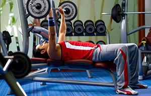 Club Gym in Calcutta Rowing Club