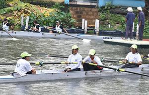 Rowing training in clubs of kolkata